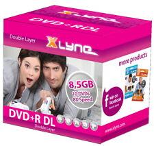 50 Xlyne Rohlinge DVD+R Double Layer 8,5GB 8x Jewelcase SONDERPOSTEN