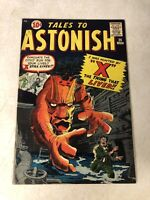 TALES TO ASTONISH #20 X THE THING THAT LIVED, DITKO, ATLAS, 1961