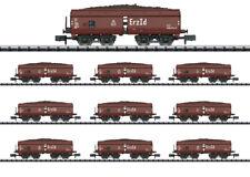 Minitrix N 15449 Display Avec 10 Selbstentladewagen Minerai Id Produit Neuf