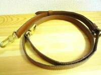 AUTHENTIC LOUIS VUITTON SHOULDER STRAP FOR MONCEAU HANDBAG LEATHER 2WAY M51185
