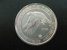 2016 Canada $8 Snow Falcon 1.5 oz .999 Silver Bullion Coin