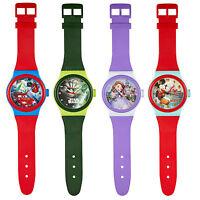 Large 92cm Wrist Watch Style Disney Wall Clock Childrens Bedroom Kids Time Jumb
