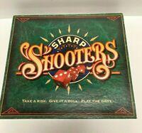 Sharp Shooters Vintage Dice Board Game 1994 Milton Bradley 100% Complete