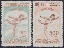 VIETNAM du NORD N°135/136  Emis Neufs sans Gomme, 1958, North VietNam