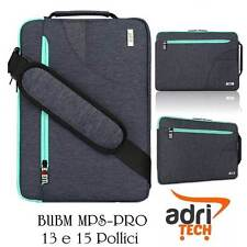 "BORSA MACBOOK PRO 13""/14""  BUBM MPS PRO BLUE BLU VALIGIA NOTEBOOK PORTA PC DELL"