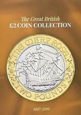 The Great British GBP2 Coin Collection: 1997 - 2019 by Simon Jones (Hardcover, 2018)