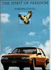 1984-85 FORD XF FALCON GL & S-PACK SEDAN 14p Brochure