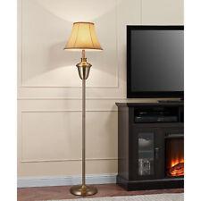 Lux.Pro Stehleuchte 160x35 Messing Stehlampe Lampe leuchte Standleuchte Retro