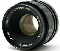 Yashica Auto Yashinon DS 50mm 1:1.9 Lens M42 *As Is* #ah10a