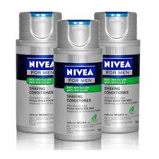 3x Philips Nivea for Men Anti-Irritation Moisturising Shaving Conditioner Balm