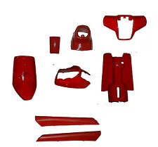 Disguise Kit Panel Fairing parts in red for Yamaha Jog 50