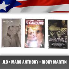 3 DVD Puerto Rico Jennifer Lopez Jlo Marc Anthony Ricky Martin Reel Me Cantante