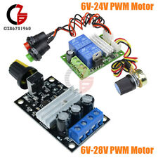 DC 6V-24V/28V 3A Motor Speed Control Switch PWM Reversible Regulator Controller