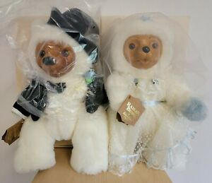 Robert Raikes Bears WEDDING EDITION 1986 Allison & Gregory Signed COA Box