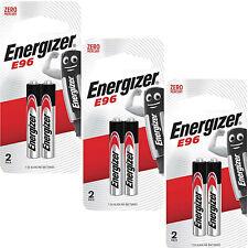 6 AAAA Energizer Batteries  MN2500 JABRA E96 LR61 1.5V