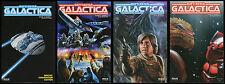 Battlestar Galactica Season III 3 Comic Set 1 2 3 + Special Convention Ed. Cylon