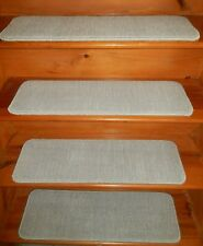 "15  STEP  9"" X 30""  + Landing  30'' x 26''  Stair Treads  100% Wool CARPET."