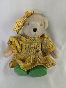 "Muffy Vanderbear Bear Plush 8"" The Sewing Lesson NABCO Stuffed Animal Toy"