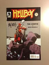Autographed Hellboy The Corpse #1 SIGNED BY Mike Mignolia Only Offer