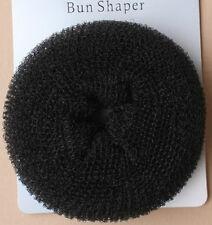 FASHION HAIR DOUGHNUT BUN RING, BUN SHAPER DONUT STYLE 2 SIZES, 2 COLOURS (52)
