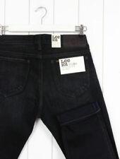 Vaqueros de hombre en color principal negro 100% algodón W32