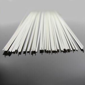 ABS05 30 x Styrene ABS Angles 500mm Lengths NEW