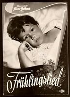Movie Program ~Oliver Grimm ~ Fruhlingslied 1954 ~Anne-Marie Blanc ~Germany ~CS