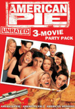 American Pie Collection DVD 3-Disc Lot! 1 2 & Wedding Unrated Widescreen Version