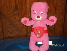 M&M CHARACTERS NANCO PINK TEDDY BEAR PLUSH