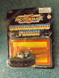 Motormax Commando Force Japanese Battle Tank Die Cast Metal