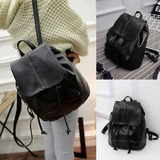 Damen Rucksack PU-Leder Schulrucksack Schulranzen tasche Backpack Reisetasche