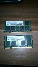 2x 1GB 2GB DDR2 AENEON Notebook RAM Speicher 533 Mhz SO-DIMM PC2-4200S 200 pin