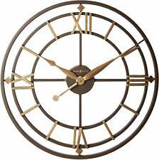 Howard Miller York Station Wall Clock 625-299 – Modern with Quartz Movement