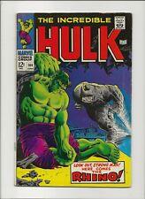 Incredible Hulk 104 G/VG 3.0 Rhino Cover & Appearance Marie Severin Art 1968