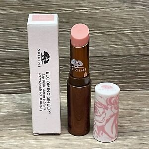 ORIGINS BLOOMING SHEER LIP BALM 02 PINK BLOSSOM FULL SIZE FAST SHIP!
