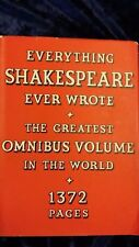 THE COMPLETE WORKS OF WILLIAM SHAKEPEARE-COLLINS-H/B D/W-UK POST 3.25