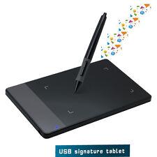 Huion 420 4 x 2.23 Inches Stylus OSU Digital Tablet Signature Board Portable CA