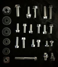 30pc BOLT KIT SUZUKI RM85 RM125 RM250 USE TO REPAIR RESTORE LOST/DAMAGED BOLTS