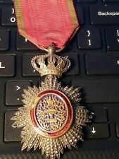 France Cambodia Wwi Royal Order Knight Military Medal French Colonial Decoration