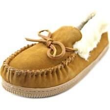 scarpe a ciabatta da donna marrone piatto ( meno di 1,3 cm )