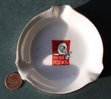 1960s Ea Rio De Janero,Brazil On The Rocks Windsor Atlantica Hotel ashtray-COOL!