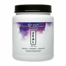 Zurvita Zeal for Life Bold Grape 30-Day Wellness Canister (420gr) - 04/2021!