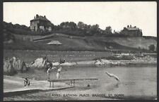 Northern Ireland. Co. Down. Ladies Bathing Place, Bangor. Note the Men Watching!