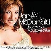 CD Album: Jane McDonald : Because You Loved Me