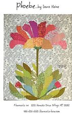 PHOEBE APPLIQUE FLOWER QUILT PATTERN, from Fiberworks INC, *NEW*