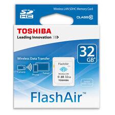Toshiba Flash Air 32GB W-03 Class 10 Wireless Memory Card Wifi SD Card