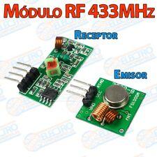 Modulo RF Transmisor + receptor 433MHz Wireless inalambrico - Arduino Electronic