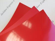 Hojas de Gel de Iluminación de Color Plástico Transparente Artesanales De Acetato Filtro 50x40cm Reino Unido