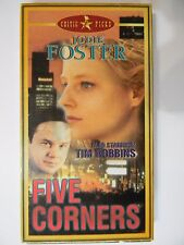 Five 5 Corners VHS Movie 1999 Jodie Foster from Private Collection