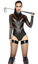 Excitement Fetish Bodysuit FORPLAY 667809 XS/S BLACK FREE SHIPPING